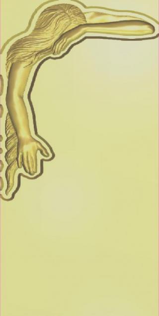 Скорбящая женщина (вариант 2)