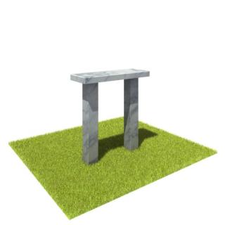Стол SM1 из мрамора