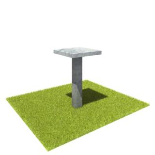 Стол SM2 из мрамора