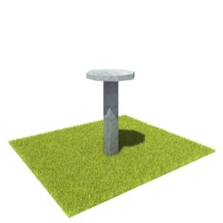 Стол SM4 из мрамора