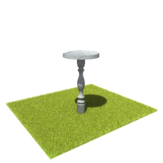 Стол SM7 из мрамора