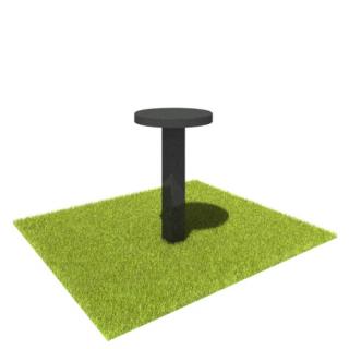 Стол S03 из черного гранита